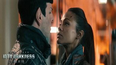 Zoe Saldana as Uhura