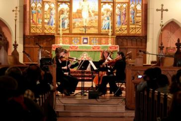 Hill Street Quartet Performs Beethoven and Dvorak