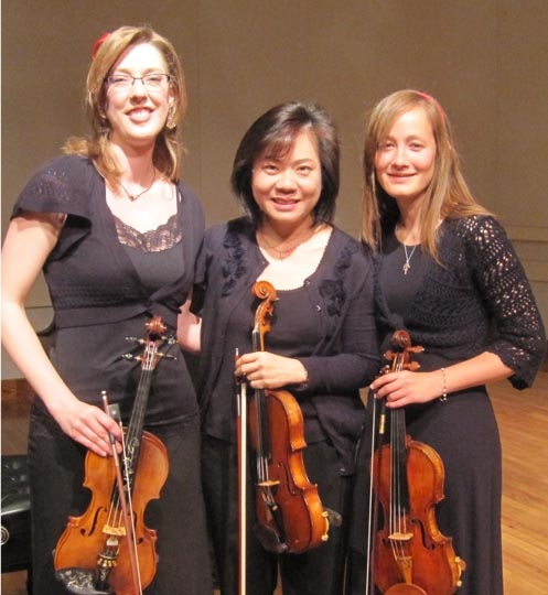 """Performing Sarah Wallin Huff's """"Counterpoint Invariable"""" for the 2nd Annual Chamber Music Festival!"""