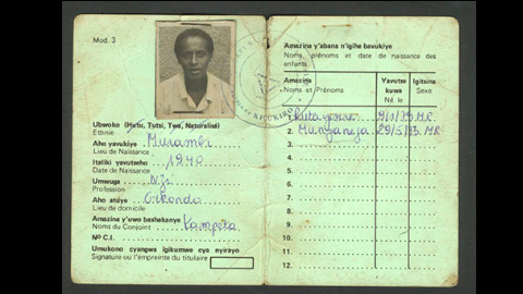 I-G41B_CarteIdentiteRwanda 10 Stages of Genocide: Where are we at?