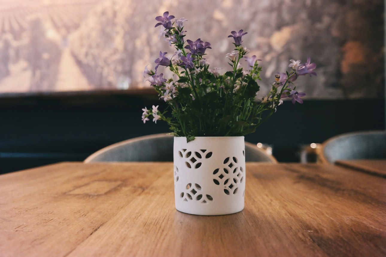 Flowers on a Table