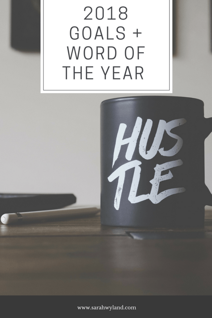 2018 Goals + Word of the Year
