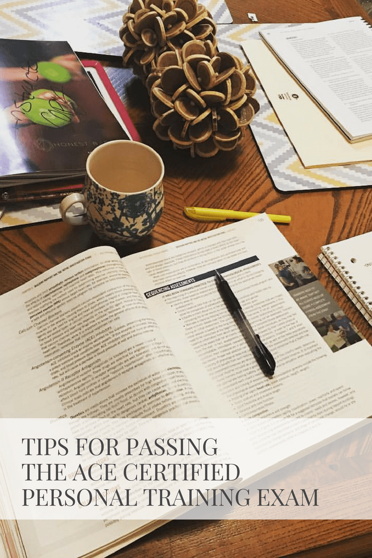 Tips For Passing The ACE Certified Personal Training Exam