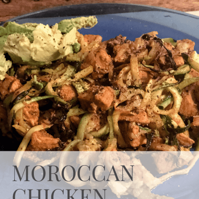 [Recipe] Moroccan Chicken