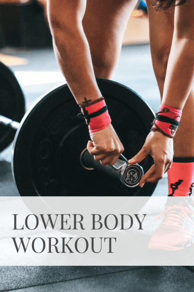 Lower Body Workout | Sarah Wyland