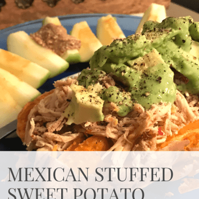 [Recipe] Mexican Stuffed Sweet Potatoes