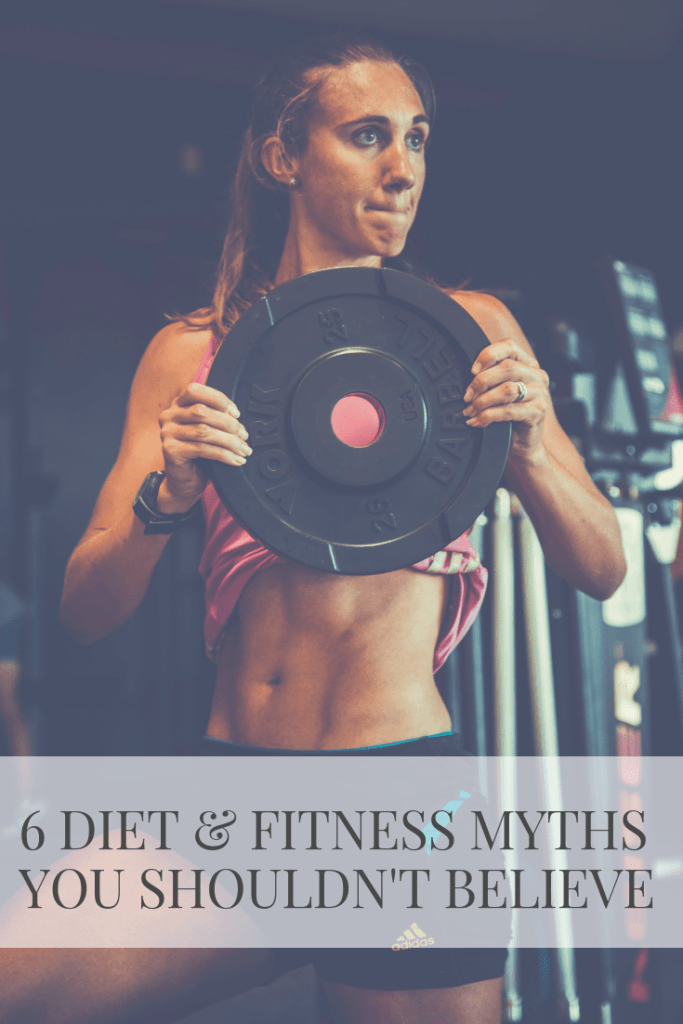 6 Diet and Fitness Myths You Shouldn't Believe