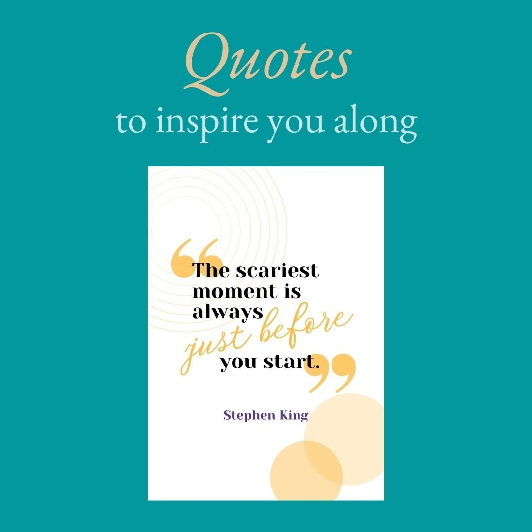NaNoWriMo Workbook 2021 - Let writerly quotes inspire you.