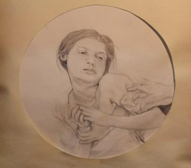 Hand Me Downs Sarah Zar drawing