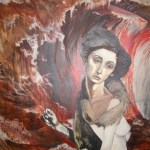 Lady of the Brambles -Sarah Zar oil paintings