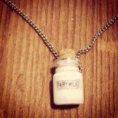 Fairy Milk Necklace