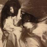 ~The Copley Family, via John Singleton Copley