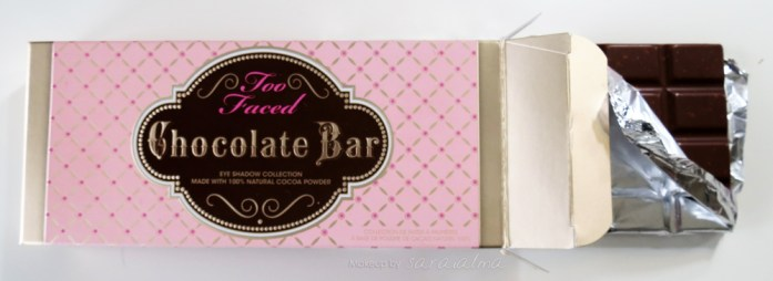 chocolate bar de too faced