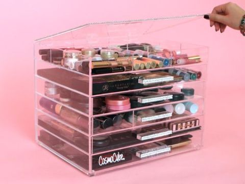 cosmo cube makeup storage