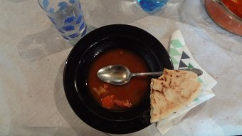 #youmightbealutheran if lunch starts with bableves (bean soup) and cigány kenyér (gypsy bread)...