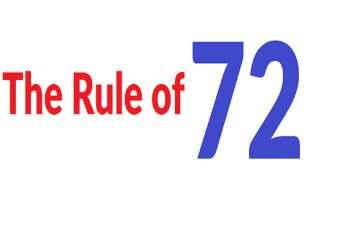 The Rule of 72 Formula - 72 सूत्राचा नियम