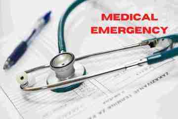 Medical Emergency Situation - वैद्यकीय आपत्कालीन परिस्थिती