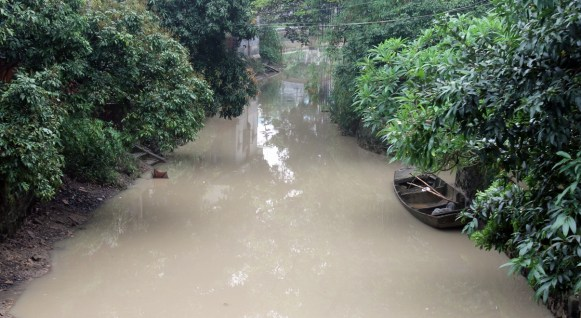Small river in Xiaozhou village