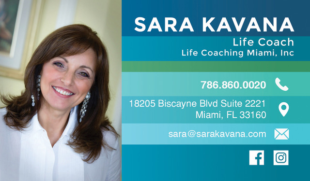 Sara Kavana Life Coach Miami