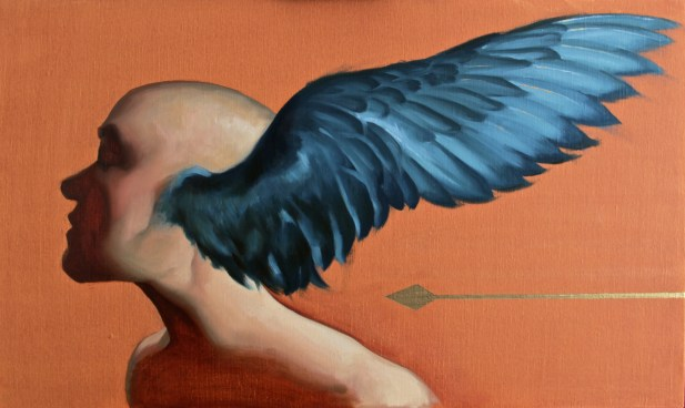 """Eros Errare"" - Oil on Canvas"