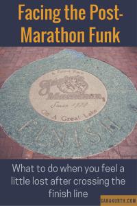 Post Marathon funk pin
