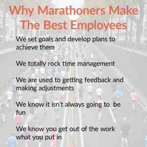 Employee Marathoners