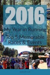 2016 Recap Year in Running