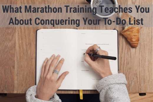 Marathon Training Lessons For Productivity