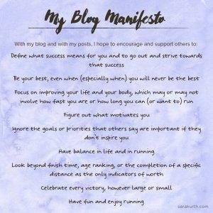 Blog Manifesto