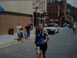 Deadwood Marathon Finish