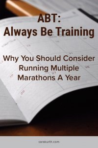 Multiple Marathons A Year
