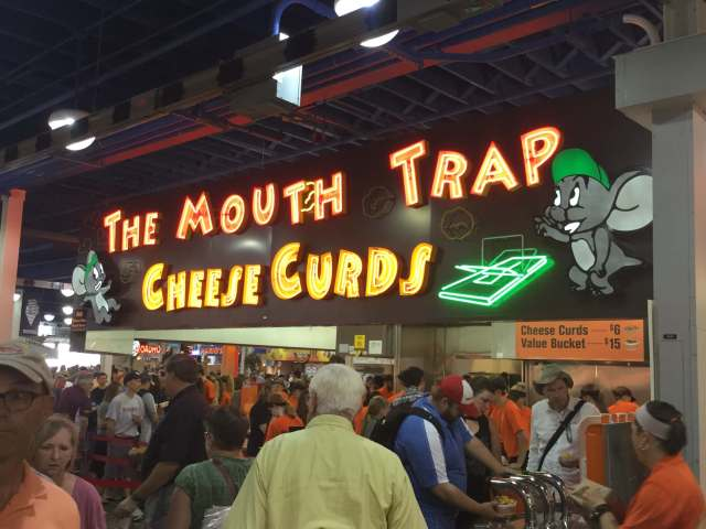 Fried Cheese Curd Booth