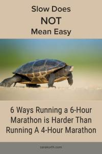 Slow Running Marathon