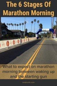Stages Of Marathon Morning