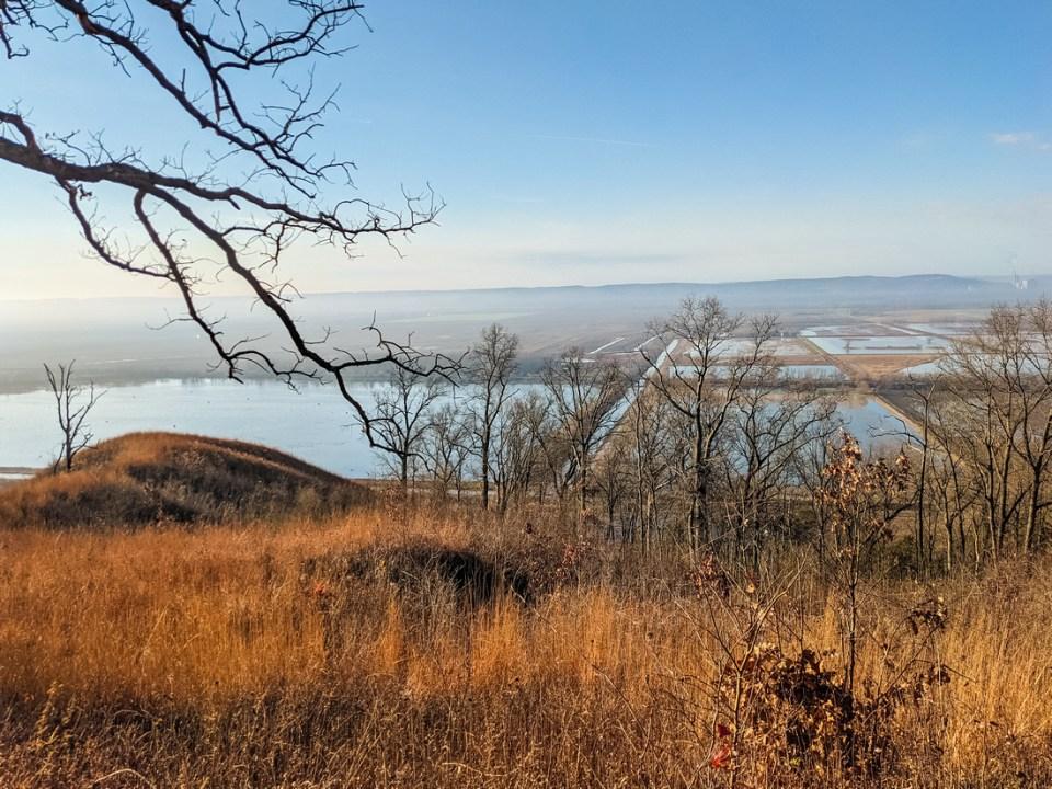 Fults Hill Prairie viewpoint