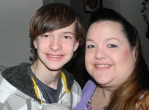 My son & I