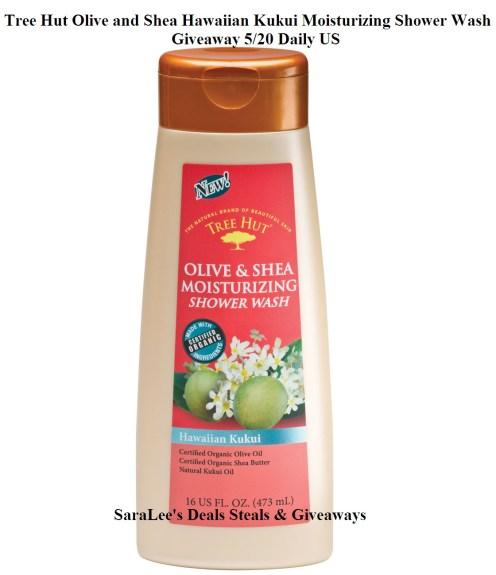 Tree Hut Olive and Shea Hawaiian Kukui Moisturizing Shower Wash