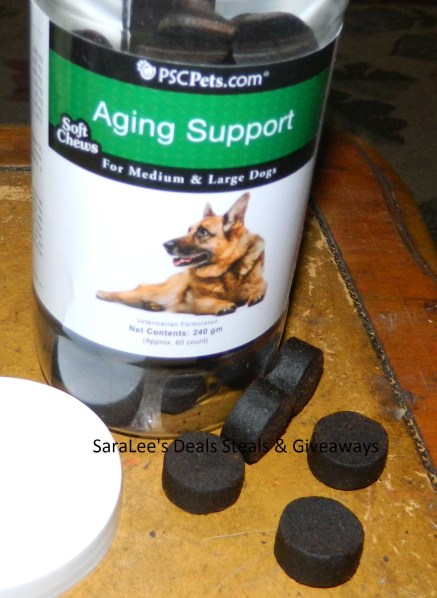 PSCPets Aging Support for Senior Dogs