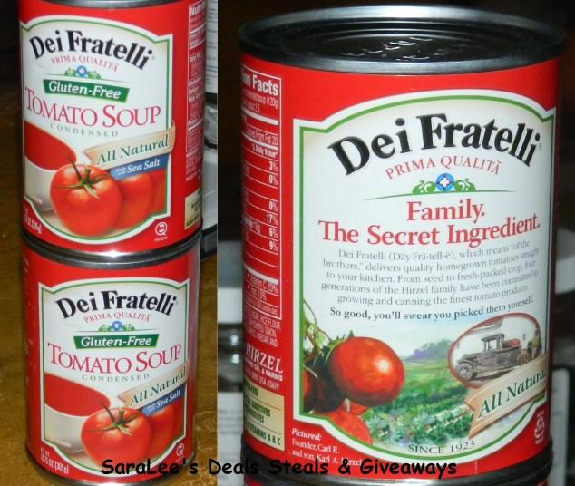 Dei Fratelli Gluten Free Tomato Soup