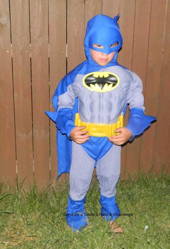 wearing costume