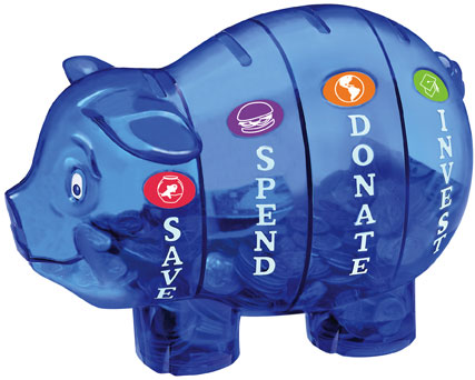 Money Savvy Pig piggy bank