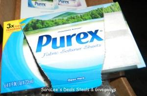 Purex dryer sheets