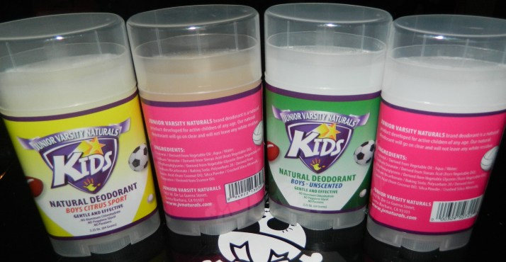 Junior Varsity Naturals Kids Deodorant