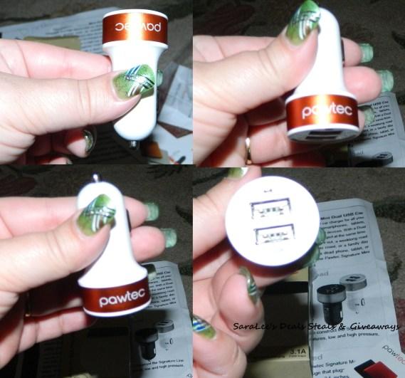 Pawtec: Mini Dual USB Car Charger