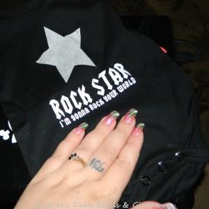Rock Star Baby bodysuit