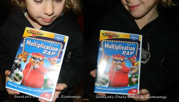 Rock 'N Learn Multiplication Rap DVD