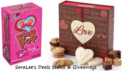 Mrs. Fields: Love Letter Box & Ring Pop (5/6)