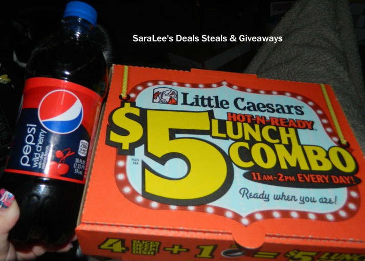 During Monday's lunch hour, Little Caesars was fulfilling its promise to give away pizza to everybody if a 16th seed beat a No. 1 seed during the NCAA men's basketball tournament.