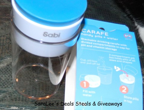 Carafe water cup