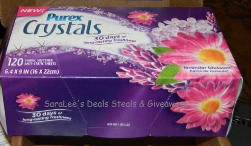 Purex Crystals Dryer Sheets